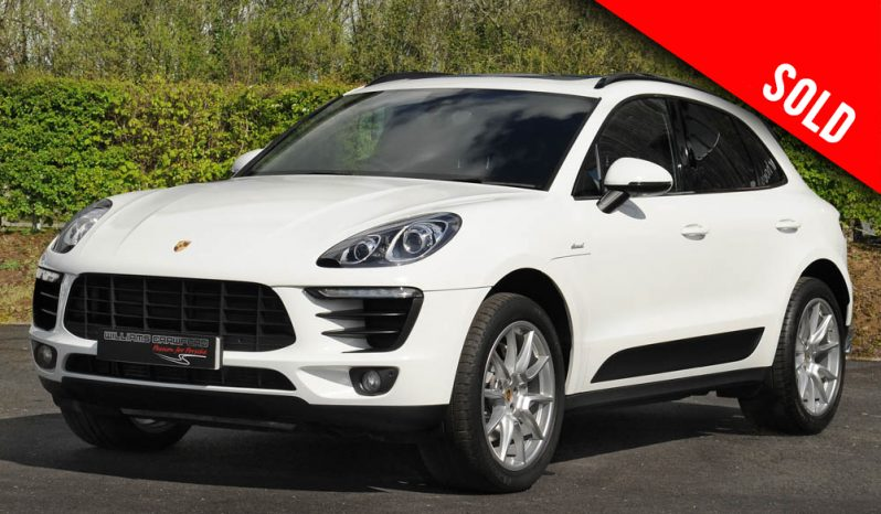 2015 model year Porsche Macan S turbo diesel PDK sold by Williams Crawford