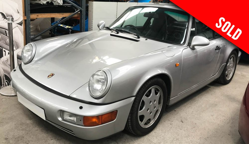 1990 Porsche 964 Carrera 4 manual coupe sold by Williams Crawford