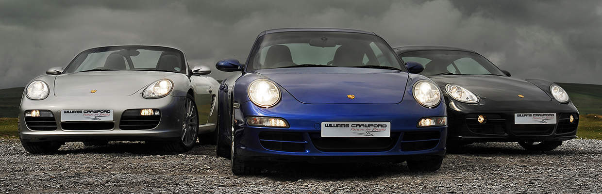 Williams Crawford Porsche Specialists in the South West. Modern & classic Porsche for Sale.
