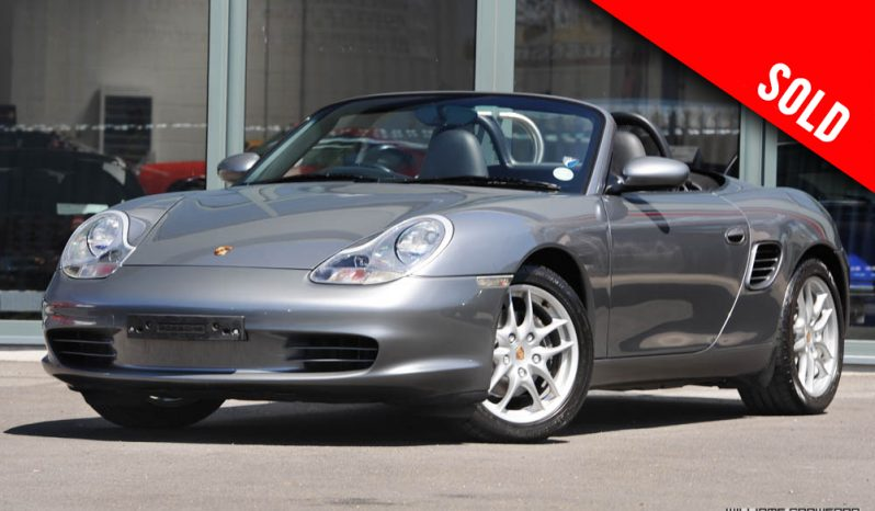 2004 Porsche 986 Boxster manual sold by Williams Crawford