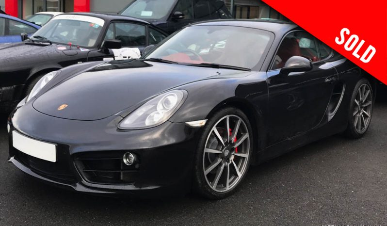 2014 Porsche Cayman S 981 PDK sold by Williams Crawford