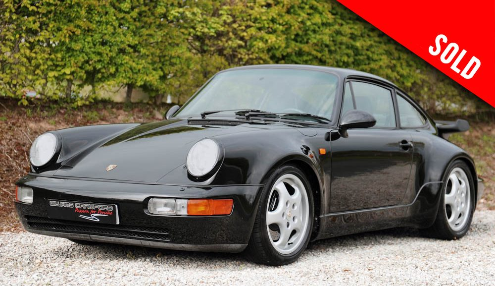 1991 Porsche 964 Turbo manual coupe (LHD) SOLD