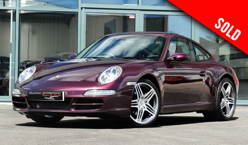 2006 Porsche 997 Carrera 2 manual coupe in special order Amethyst sold