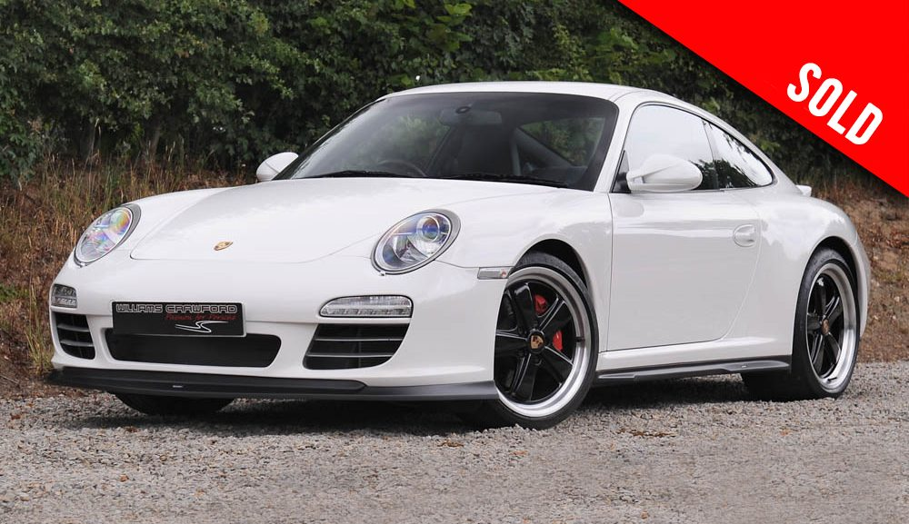 2009 model year Porsche 997 (Gen II) Carrera 4 S PDK coupe sold by Williams Crawford