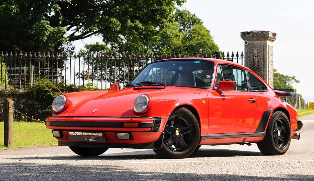 Front view of 1988 Porsche 911 Carrera 3.2 sport coupe G50 for sale