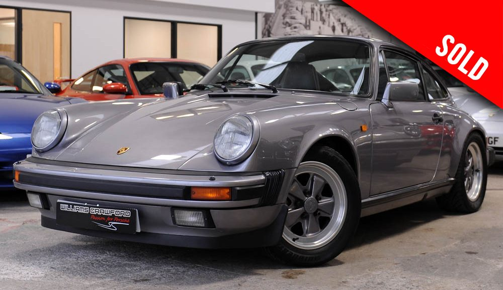 1987 Porsche 911 Carrera 3.2 manual coupe sold by Williams Crawford