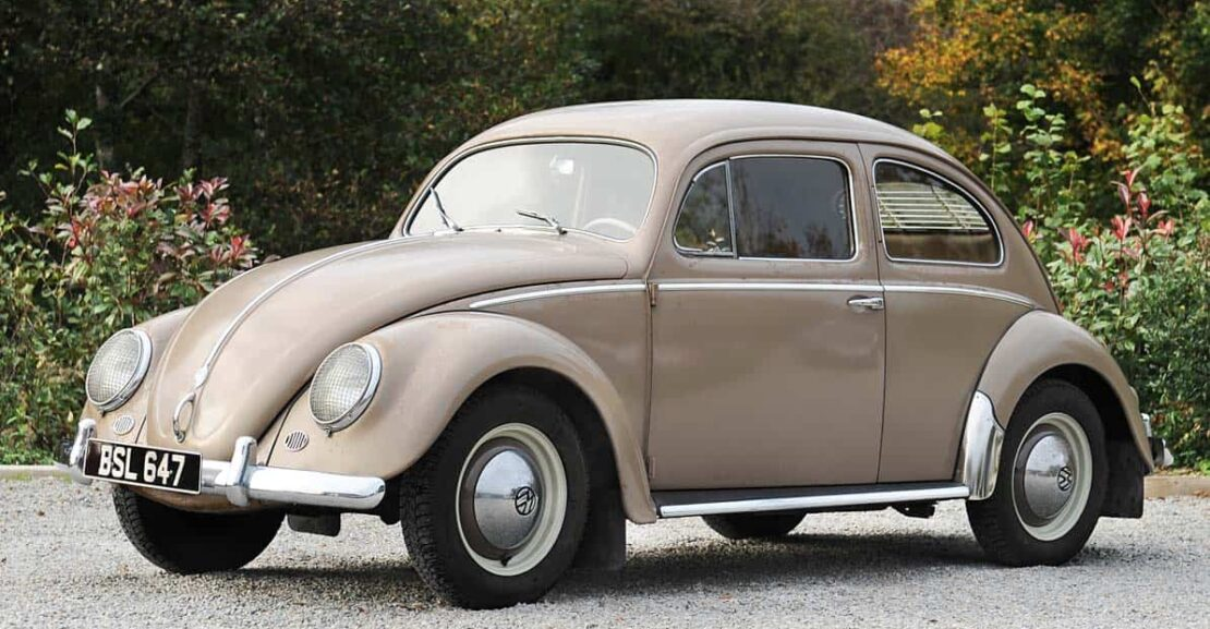 Front view of 1956 VW Beetle 1200 LHD for sale