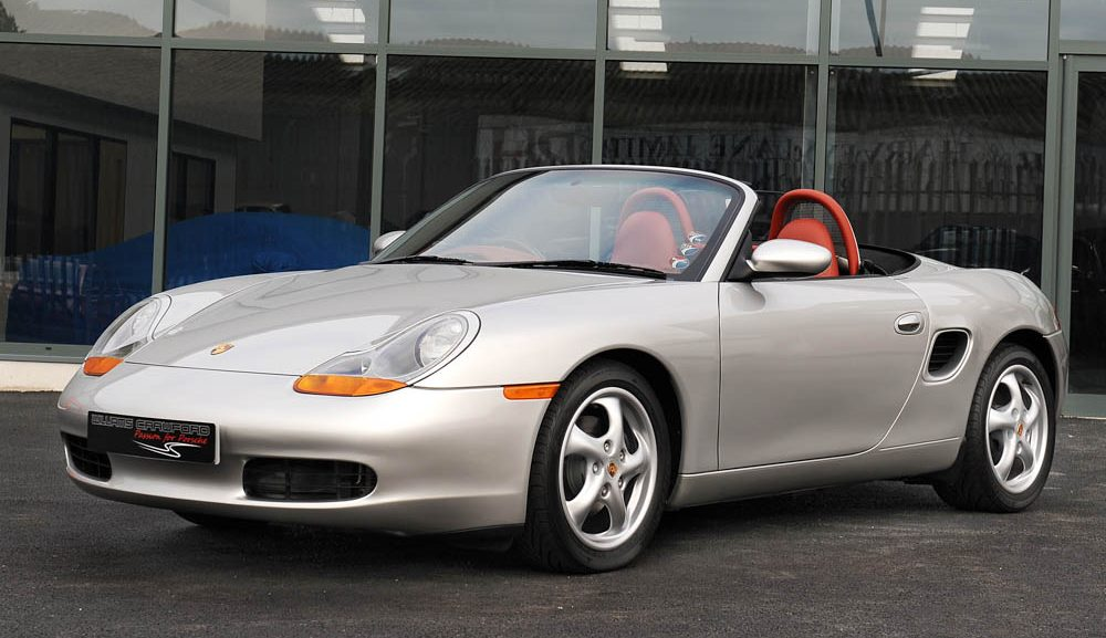 Front view of 1997 Porsche 986 Boxster Tiptronic S for sale