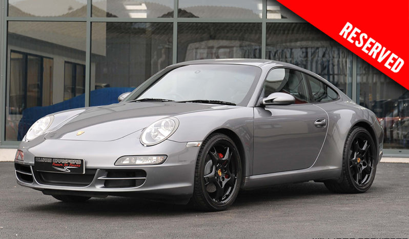 RESERVED – Porsche 997 Carrera 2 S manual coupe 2005