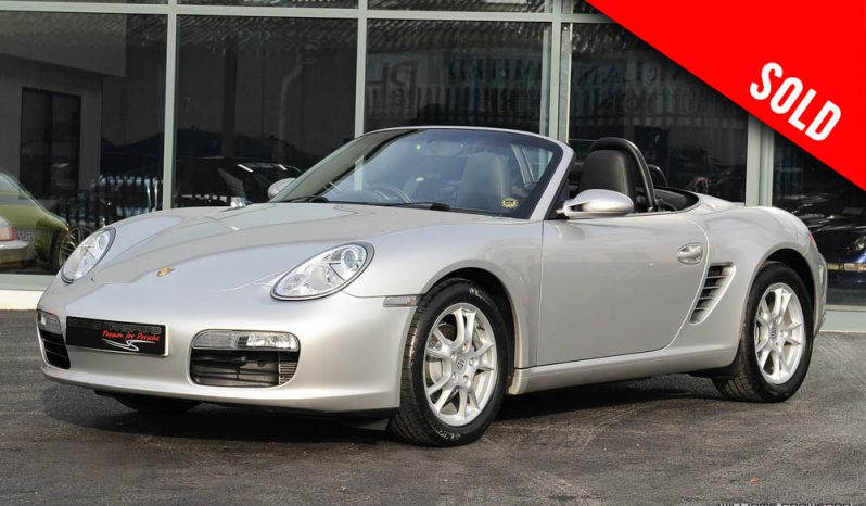 2005 model year Porsche 987 Boxster manual sold by Williams Crawford