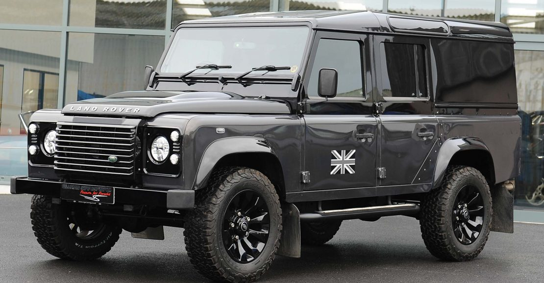 Land Rover Defender 110 XS TD Havana metallic/black 2013, for sale at Williams Crawford Porsche specialists in the South West