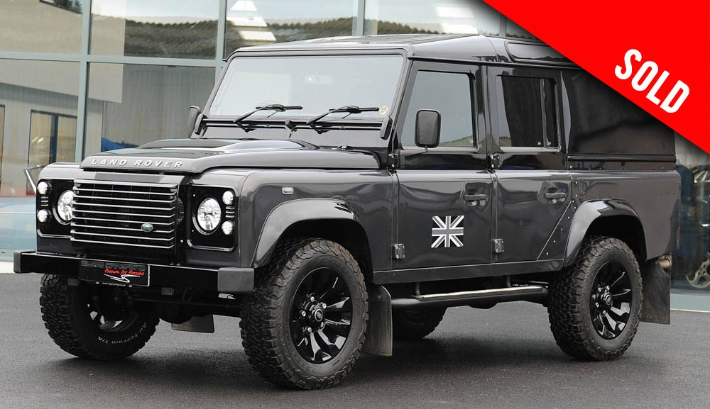 2013 Land Rover Defender 110 XS TD manual sold by Williams Crawford
