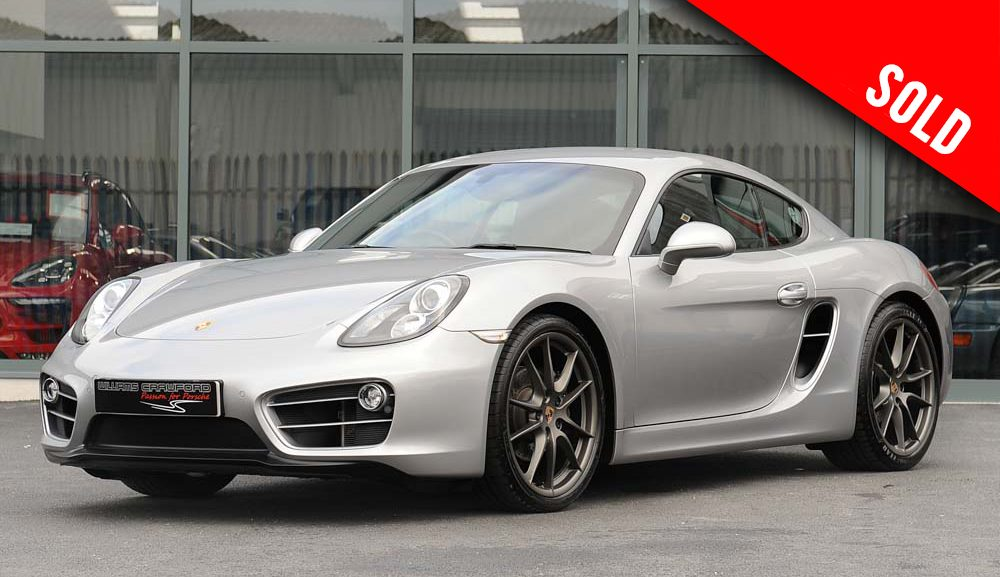 2014 Porsche Cayman 981 PDK sold by Williams Crawford