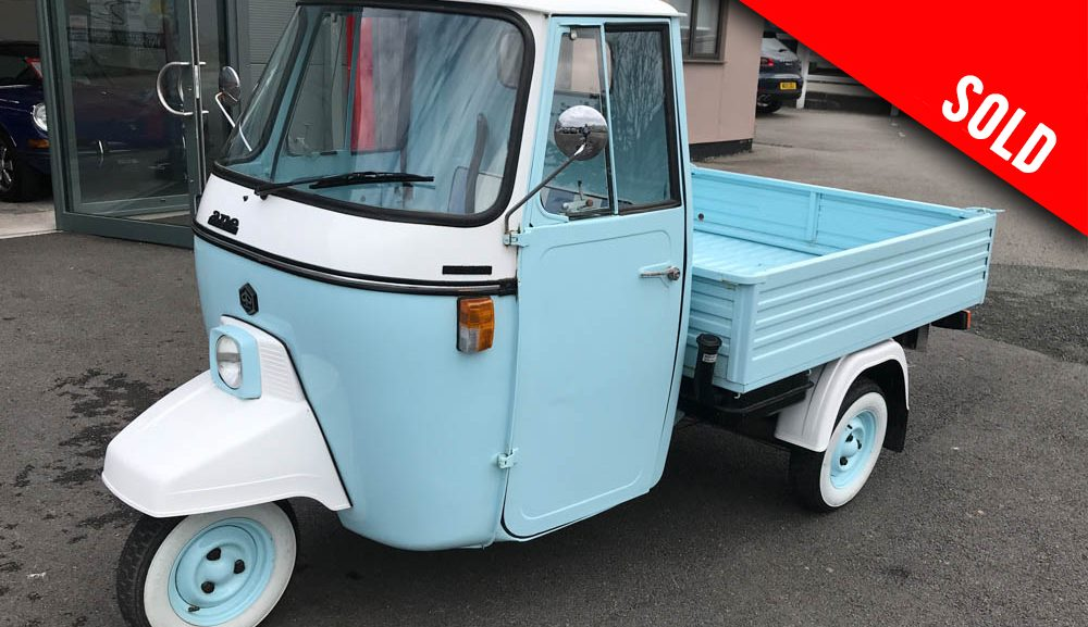 1996 Piaggio Ape sold by Williams Crawford