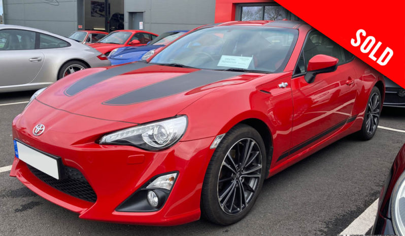 Toyota GT86 D-4S manual 2016 model year