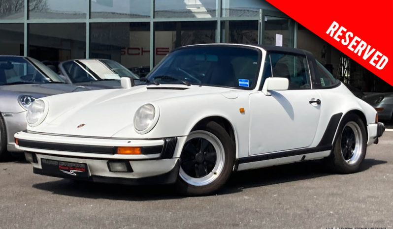 RESERVED – Porsche 911 Carrera 3.2 Sport Targa manual 1986