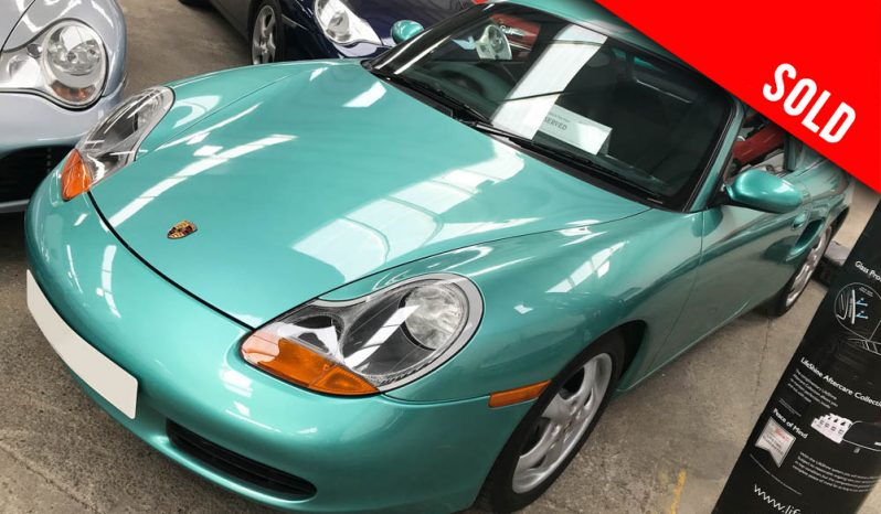 1999 Porsche Boxster 986 manual in Jade green metallic sold by Williams Crawford