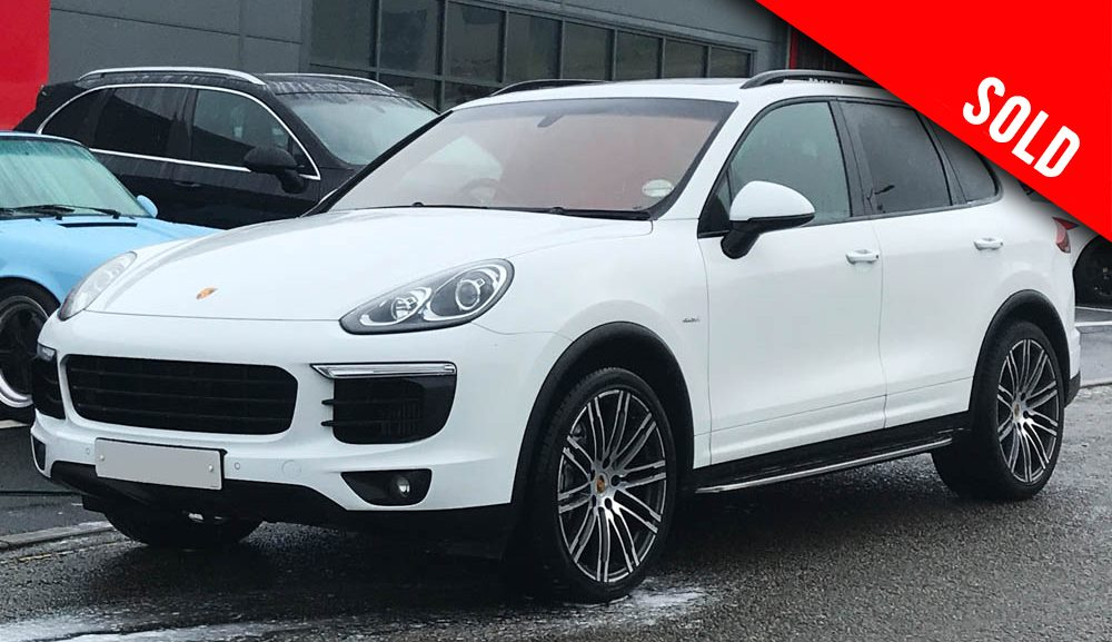 2016 Porsche Cayenne S 4.2 V8 turbo diesel Tiptronic S sold by Williams Crawford