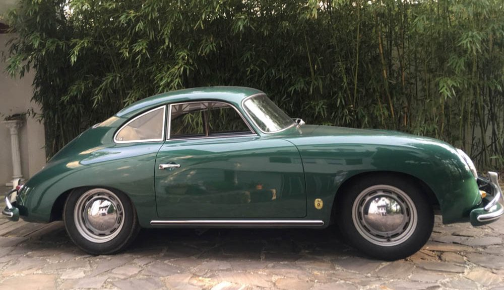 1957 Porsche 356 A (T1) LHD coupe in Lago green for sale