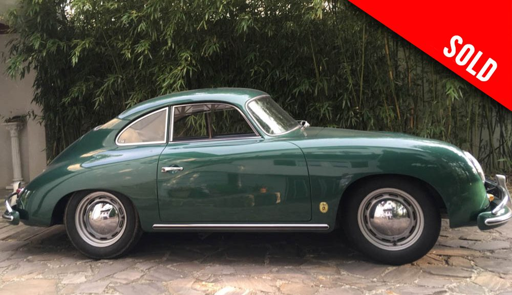 1957 Porsche 356 A (T1) LHD Coupe sold by Williams Crawford