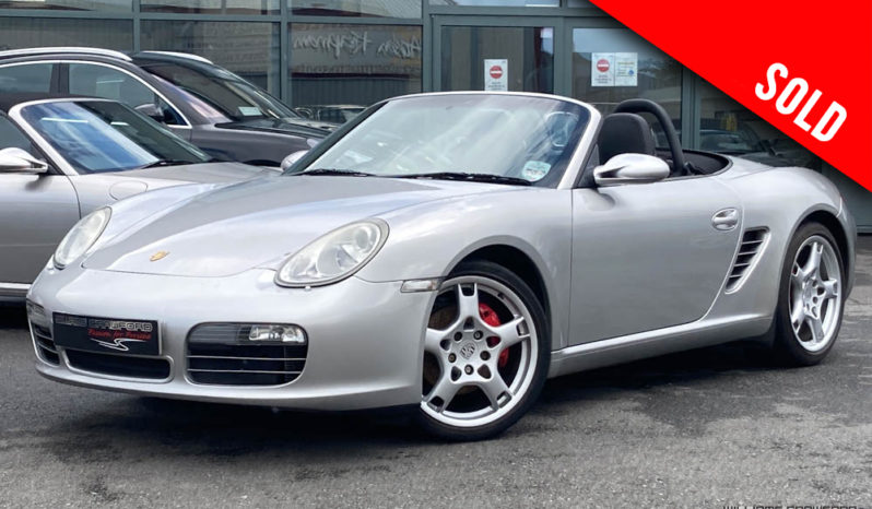 2005 Porsche 987 Boxster S manual sold by Williams Crawford