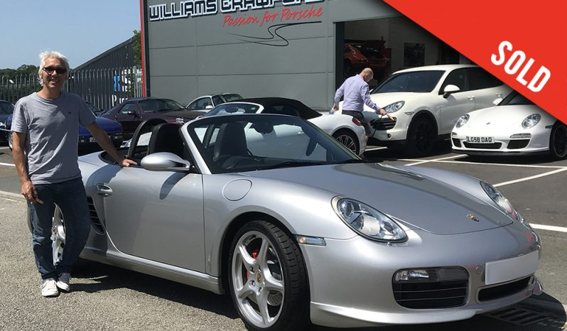 2008 Porsche 987 Boxster S manual Sport Edition sold by Williams Crawford