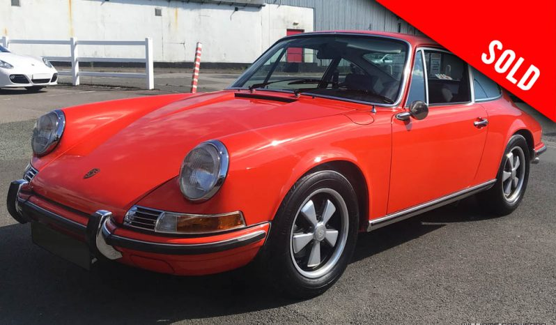 1971 Porsche 911 T LHD coupe sold by Williams Crawford