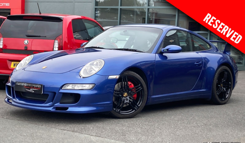RESERVED – Porsche 997 Carrera 4 S manual coupe 2007 model year