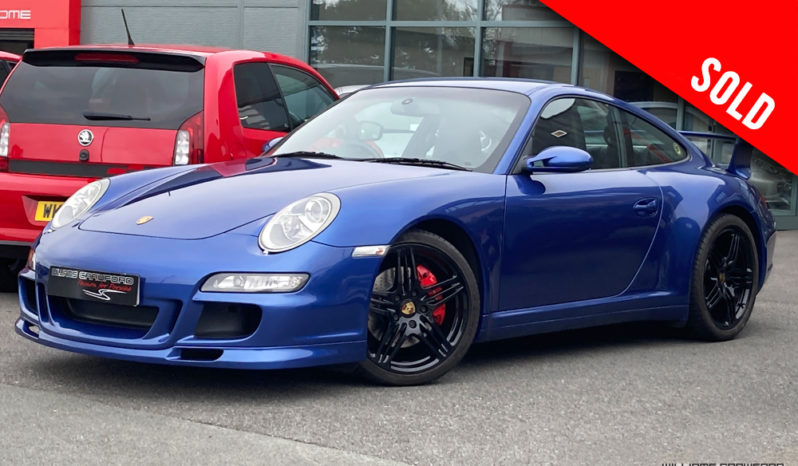 2007 model year Porsche 997 Carrera 4 S manual coupe with factory aerokit sold by Williams Crawford