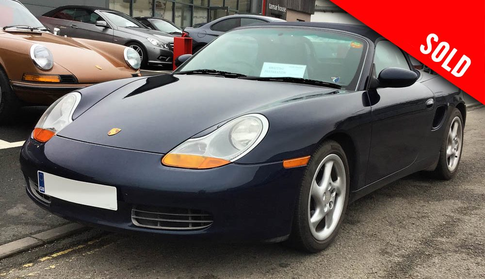 1999 Porsche 986 Boxster manual sold by Williams Crawford