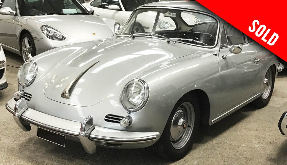 1963 Porsche 356 B T6 1600 S LHD coupe by Karmann sold by Williams Crawford