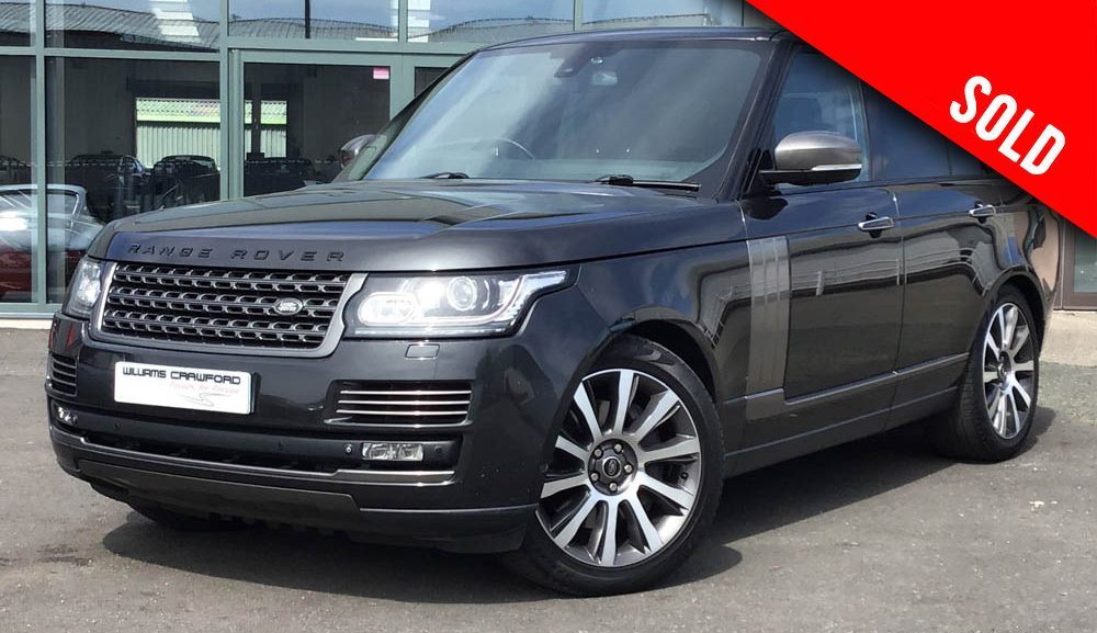 2014 model year Range Rover Autobiography 4.4 litre V8 TD auto sold by Williams Crawford