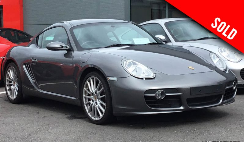 2007 Porsche 987 Cayman S manual sold by Williams Crawford