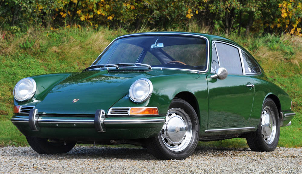 Front view of 1967 Porsche 911 2.0 SWB LHD coupe for sale
