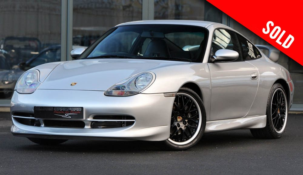 1999 model year Porsche 996 Carrera 2 Tiptronic S sold by Williams Crawford