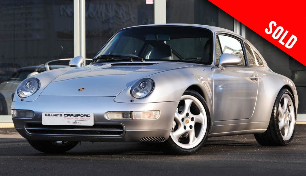 1998 Porsche 993 Carrera 4 manual coupe sold by Williams Crawford