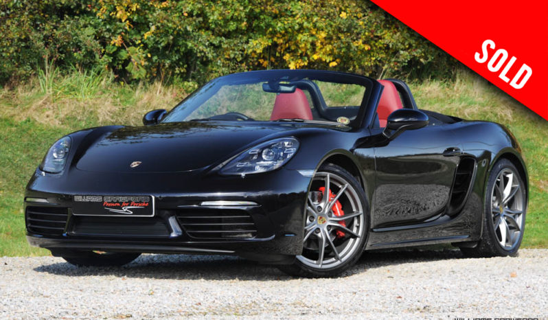 2018 Porsche 718 Boxster S PDK sold by Williams Crawford