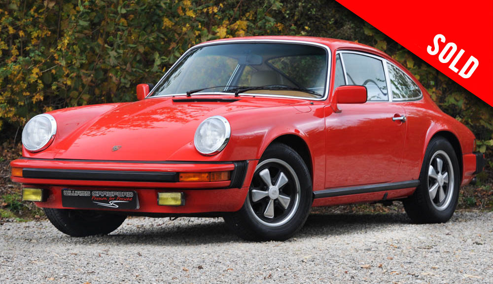 1976 Porsche 911 S 2.7 LHD coupe sold by Williams Crawford