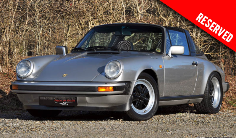 RESERVED – Porsche 911 3.0/3.2 SC Targa RHD manual 1981
