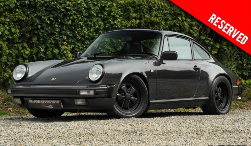RESERVED – Porsche 911 Carrera 3.2 LHD manual coupe 1989 model year