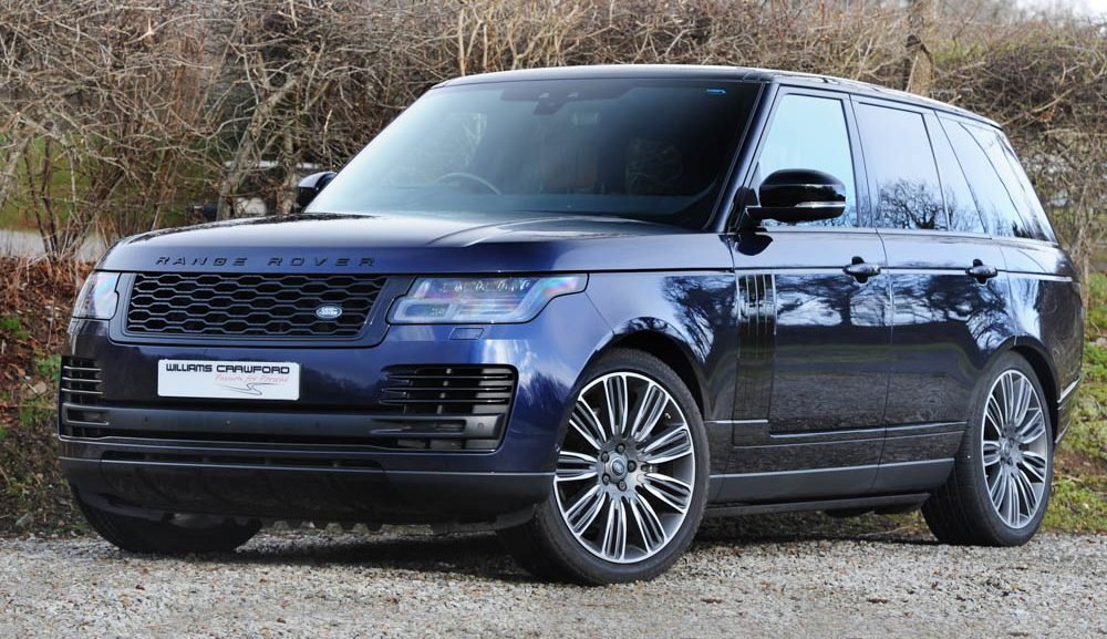 Front view of 2018 Range Rover 5.0 V8 Autobiography auto for sale