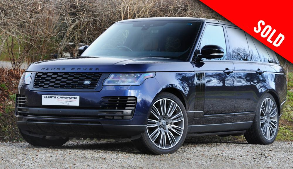 2018 Range Rover 5.0 V8 Autobiography auto sold by Williams Crawford