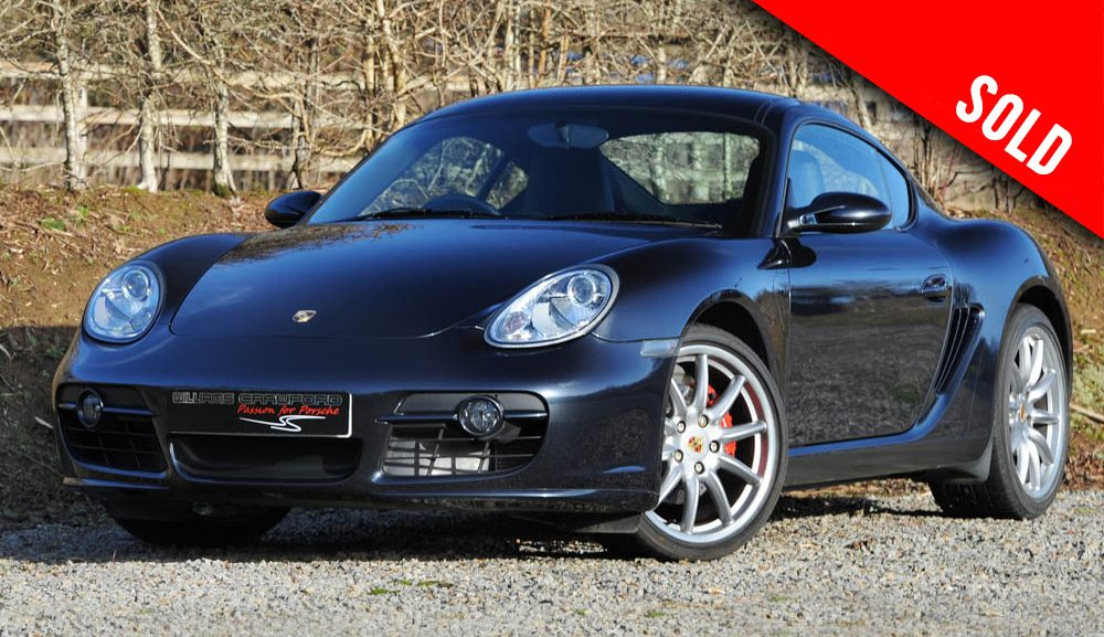 2008 Porsche 987 Cayman S manual sold by Williams Crawford