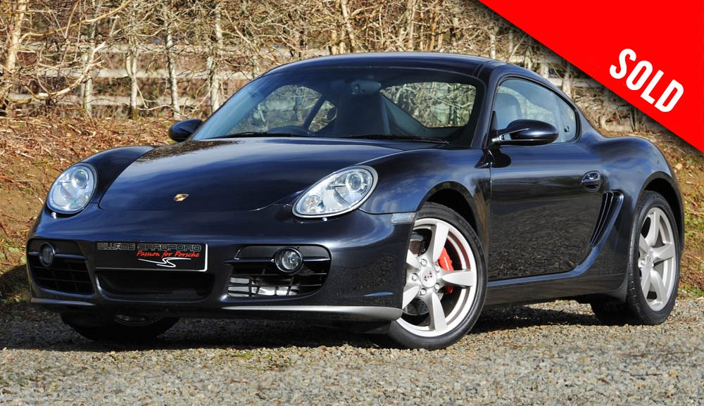 2006 model year Porsche Cayman S 987 manual sold by Williams Crawford