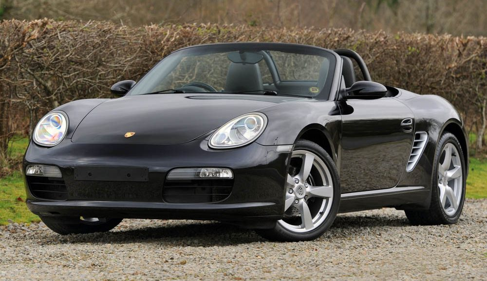 Front view of 2008 Porsche 987 Boxster manual for sale
