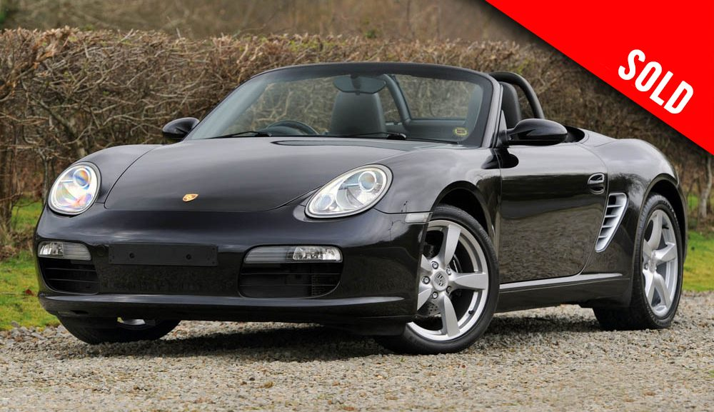 2008 Porsche 987 Boxster manual sold by Williams Crawford