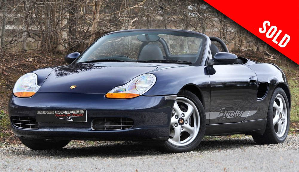 1998 Porsche Boxster 986 manual sold by Williams Crawford