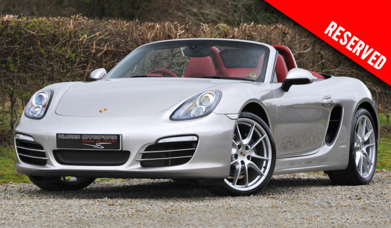 RESERVED – Porsche Boxster 981 PDK 2013 model year