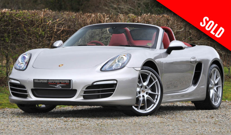 2013 model year Porsche 981 Boxster PDK sold by Williams Crawford
