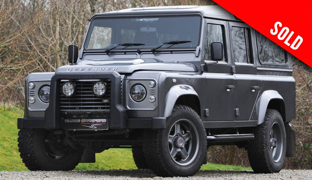 2016 MY Land Rover Defender 110 XS TD manual 'Twisted' sold by Williams Crawford